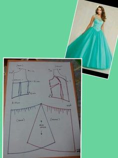 Brilliant Tips Sewing Pattern Ideas Evening Dress Patterns, Dress Making Patterns, Easy Sewing Patterns, Clothing Patterns, Skirt Patterns, Corset Sewing Pattern, Gown Pattern, Designer Blouse Patterns, Blouse Designs
