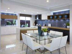 Blanco idea de comedor de un verdadero hogar de Australia - Comedor foto 7790349