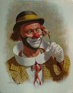 Clown de Arthur Sarnoff