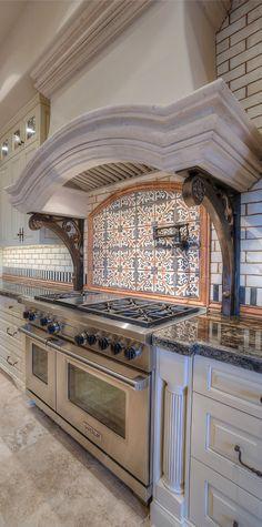 mediterranean tuscan kitchen hood