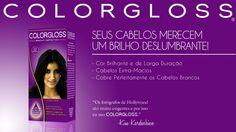 Anúncio de tintura para cabelos - Adobe Photoshop | Criação do nome e conceito baseado no público feminino e na linguagem visual característica dos produtos de beleza.