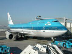 KLM B747-4