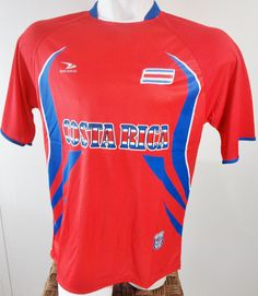 COSTA RICA SOCCER JERSEY T-SHIRT DRAKO FÚTBOL ONE SIZE FOOTBALL WORLD CUP 2014 #Drako #soccershirts #soccerjerseys #fifaworldcup #football #soccer #worldcup2014 #costarica