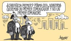 El trazo de Heduardo sobre la posibilidad de que Luis Castañeda sea el Premier del gobierno de Ollanta Humala.