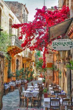 Google+ Taverna in Rethymno, Crete