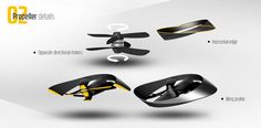 The combination of autonomous systems and multicopters made it possible to create an unmanned flying vehicle. The modular structure allows to use it for different applications. With a cabin it is an aerial taxi, with a container it is a cargo plane or it