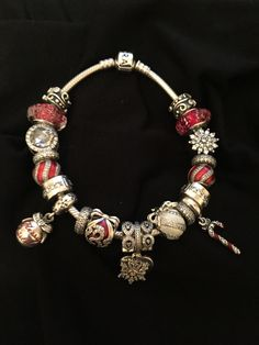 Pandora Christmas Charms, Pandora Charms, Disney Pandora, Bling, Charmed, Bracelets, Jewelry, Bangle Bracelets, Jewel