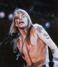 Axl Rose, early '90s