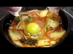 Tasty, Healthy and Easy Skillet KIMCHI and EGG Breakfast ~ Healthy Spicy...