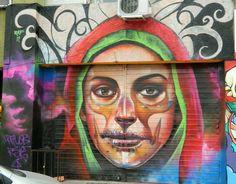 Picture of Street art by El Raf - Lima (Peru) Best Street Art, 3d Street Art, Murals Street Art, Street Art Graffiti, Advanced Higher Art, Graffiti Characters, La Art, Fantastic Art, Awesome