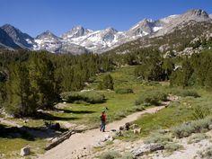 California Walking Trail, Sierra Madre