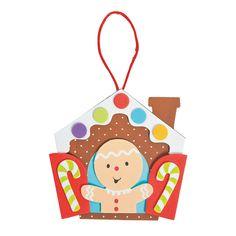 Gingerbread+in+a+Window+Ornament+Craft+Kit+-+OrientalTrading.com