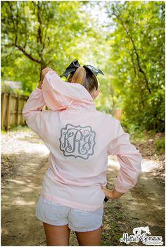 Monogram Rain Jacket, Monogrammed Pack N Go Pullover, Monogrammed Wind breaker, Monogram Jacket, Ladies Monogram Rain Jacket, Girls, Teens by PoshPrincessBows1 on Etsy