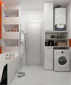 ванная 4 квадрата дизайн - Поиск в Google