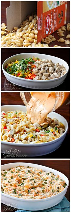 joysama images: Buffalo Chicken Mac and Cheese- Yum! So easy and good (used rotisserie chicken)