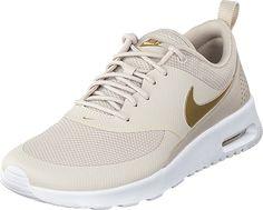 Nike - Wmns Air Max Thea Cream/white/metallic Gold Air Max Thea, Cream White, Metallic Gold, Metallica, Nike Free, Sneakers Nike, Shoes, Fashion, Nike Tennis