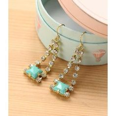 Buy 'Petit et Belle – Rhinestone Drop Earrings' at YesStyle.com plus more items and get Free International Shipping on qualifying orders.
