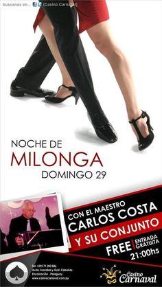 Paraguay: Milonga en Casino Carnaval