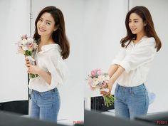 Im Jin Ah Nana, Nana Afterschool, Ruffle Blouse, Long Sleeve, Sleeves, Vespa, Tops, Women, Fashion