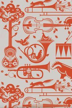 THE STYLISH CO.: Wallpaper for kids room // Tapeta do dziecięcego pokoju