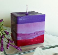 Hand made soy candles have a future - Candles by Deganit