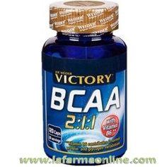 BCAA 2:1:1 120 CÁPSULAS VICTORY