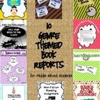 This product is a compilation of all my individual genre based assignments into one complete year long reading package for Grades 6,7, or 8. There ...