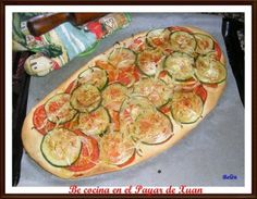Coca de verduras