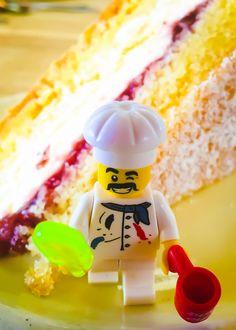 Cake at the Burford Garden Centre! #lego