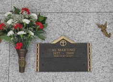 """Al Martino - Vocalist. A popular singer, he enjoyed a successful recording career in the United States and Europe from the early 1950's into the mid-1970's. He is best known for the top twenty hits """"I Love You Because"""" (1963), """"I Love You More and More Every Day"""" (1964) and """"Spanish Eyes"""" (1965)."""