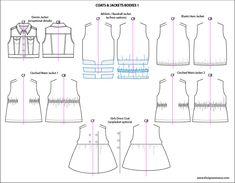 Kids Illustrator Flat Fashion Sketch Templates - My Practical Skills | My Practical Skills