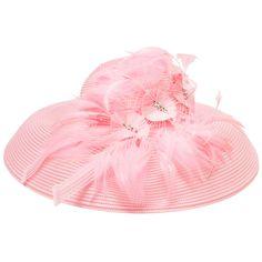 Frank Olive Feather Flowers Hat with Rhinestones #VonMaur