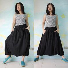 Plus Size  You & Me...Black Cotton Boho Funky by beyondclothing, $46.00