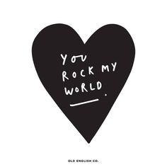 You rock my world ❤️ // Follow @bookofeveryone for more valentines quotes