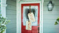 """DIY """"Give Thanks"""" Door Hanger"""