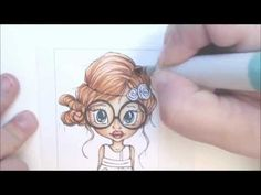 Copic Speed Coloring- Hair 1