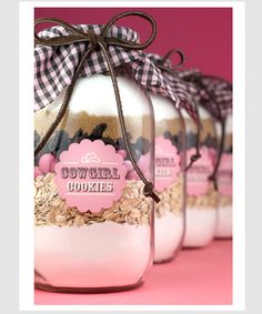 DIY mason jar ideas, considering chocolate chip , or snicker doodles for Christmas presents.