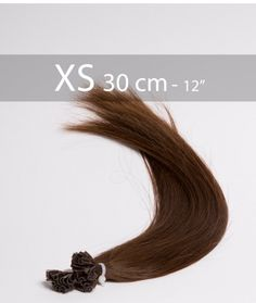 keratine extensions 30 cm brun