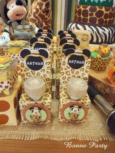 Encontrando Ideias: Festa Mickey Safari!!