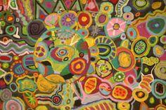Circle Painting -- Fourth Grade