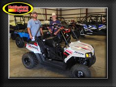 Thank you Jerid and Cayne Hensarling from Richton MS for getting a 2012 Polaris RZR 170 #polaris