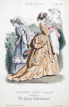 August, 1869 - The Young Englishwoman