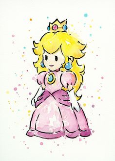 #princess #peach #nintendo