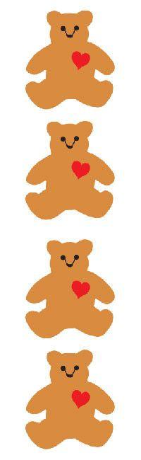 Classic Bear Sticker Mrs. Grossman's