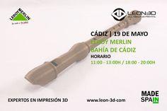 Taller de impresión 3D Leroy Merlin Bahía de Cádiz (Cádiz)
