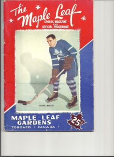 Howie Meeker Tim Hortons, Ticket Stubs, Hockey Mom, National Hockey League, Toronto Maple Leafs, Toronto Canada, Nhl, Legends, Leaves