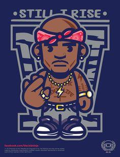 So cool!!!! Tupac Shakur Art 2Pac