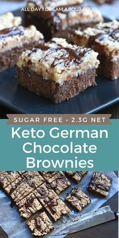 Low Carb Sweets, Low Carb Desserts, Dessert Recipes, Keto Recipes, Diabetic Desserts Sugar Free Low Carb, Diabetic Recipes, Soup Recipes, Dinner Recipes, Sugar Free Brownies