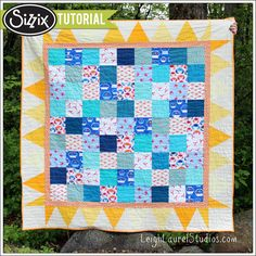 Sizzix Tutorial | Sun and Sand Quilt by Karin Jordan