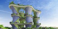"""Bienvenue à """"Hypérions"""", l'immeuble agritectural du futur"""